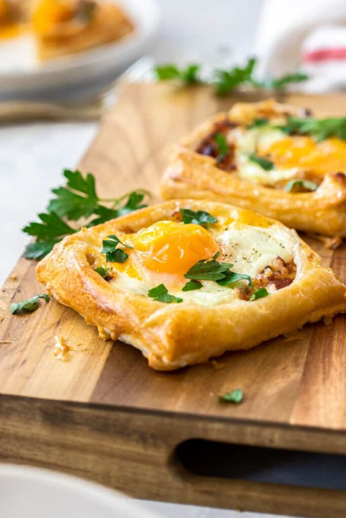 Bacon Egg Galettes Savory Galette Recipes