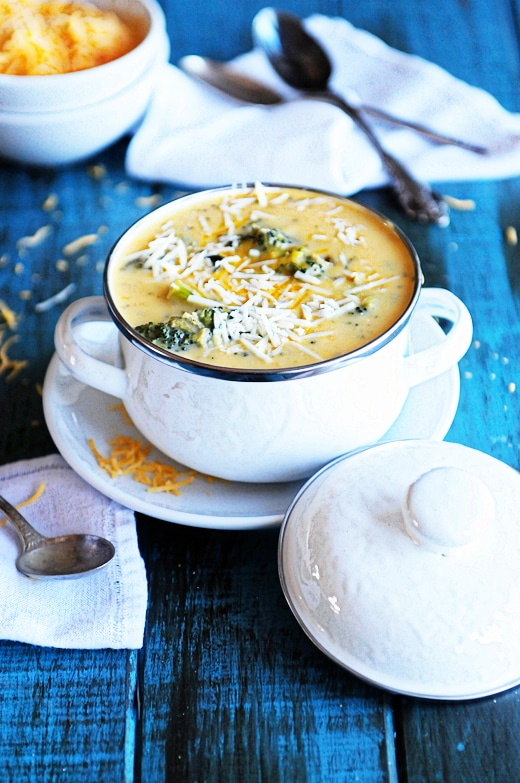 Broccoli Recipes You Need to Try : Broccoli Cheese Soup from Dine and Dash
