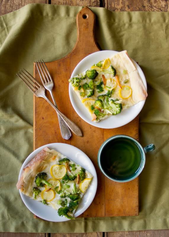 Broccoli Recipes You Need to Try: Broccoli Garlic Flatbread
