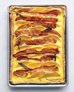 Butternut Squash Recipes Bacon Butternut Squash Quiche