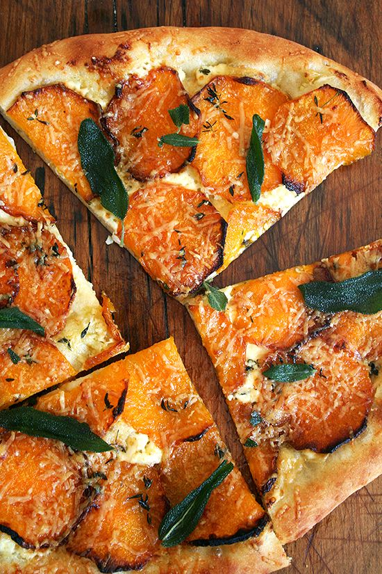 Butternut Squash Recipes Butternut Squash and Crispy Sage Pizza