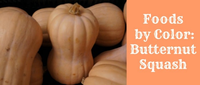 Foods by Color Butternut Squash