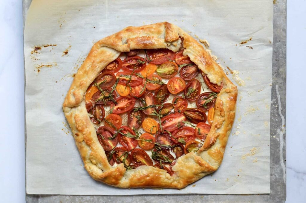 Tomato Goat Cheese Galette Savory Galette Recipes