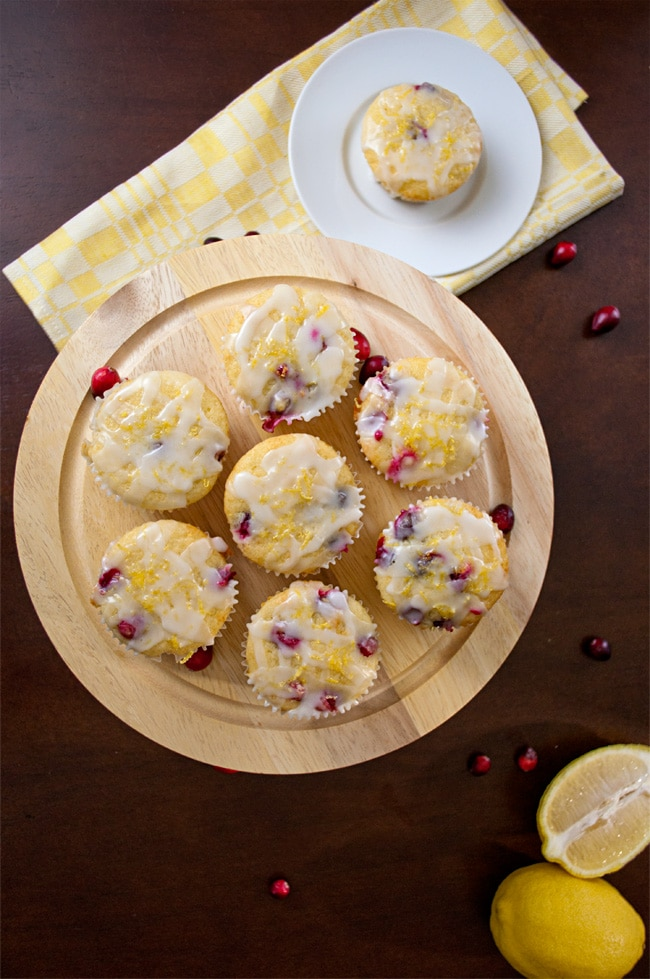 Best Muffin Recipes Ever : Cranberry Lemon Muffins