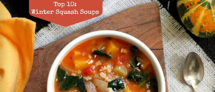 Top 10: Winter Squash Soups