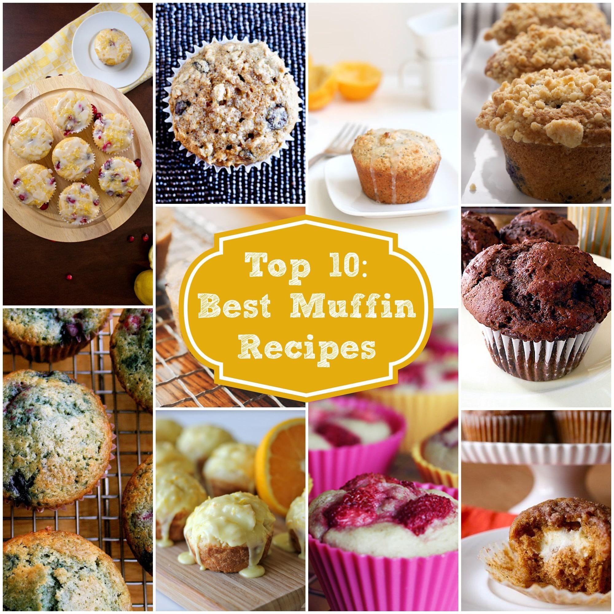 Best Muffin Recipes Ever : Top Ten Best Muffin Recipes