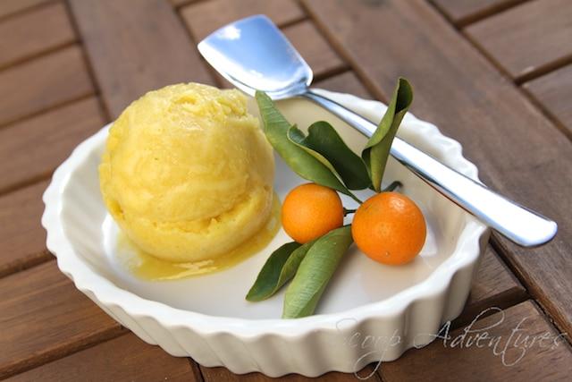 kumquat sorbet
