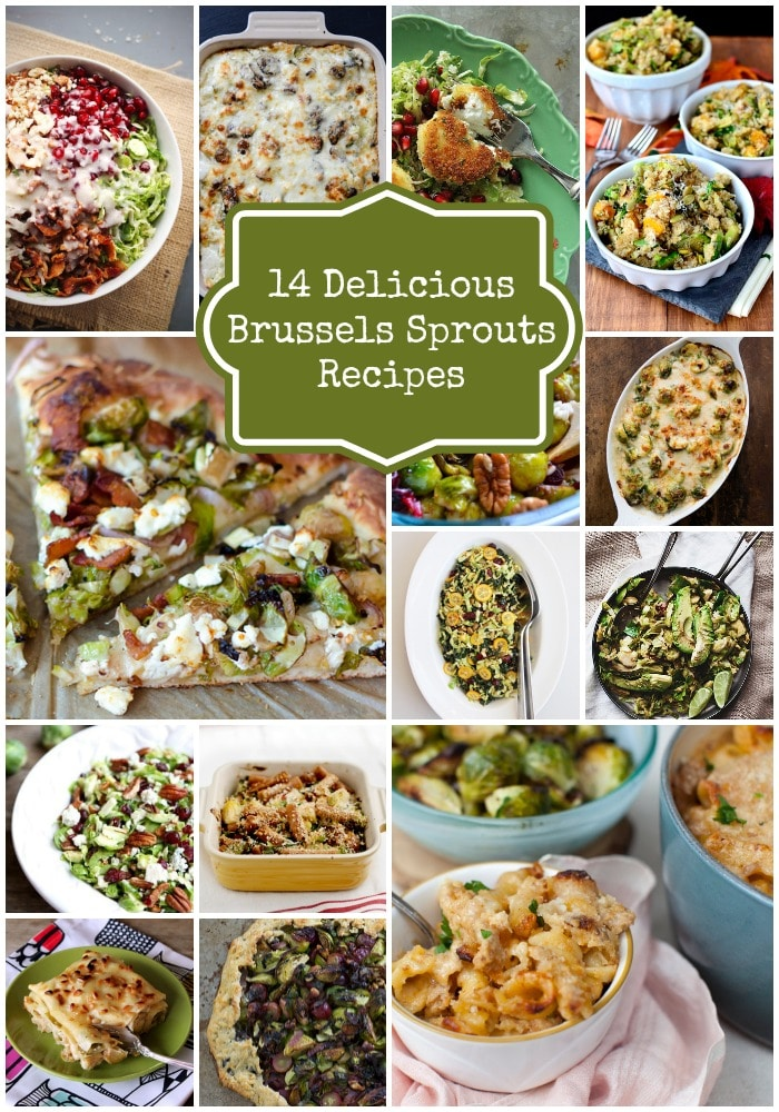 14 Delicious Brussels Sprouts Recipes