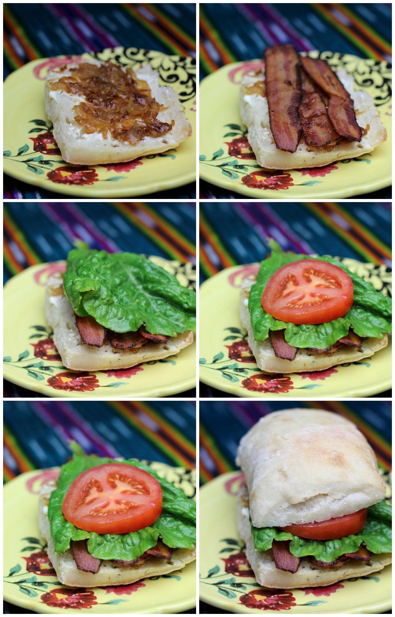Assemble Sandwich