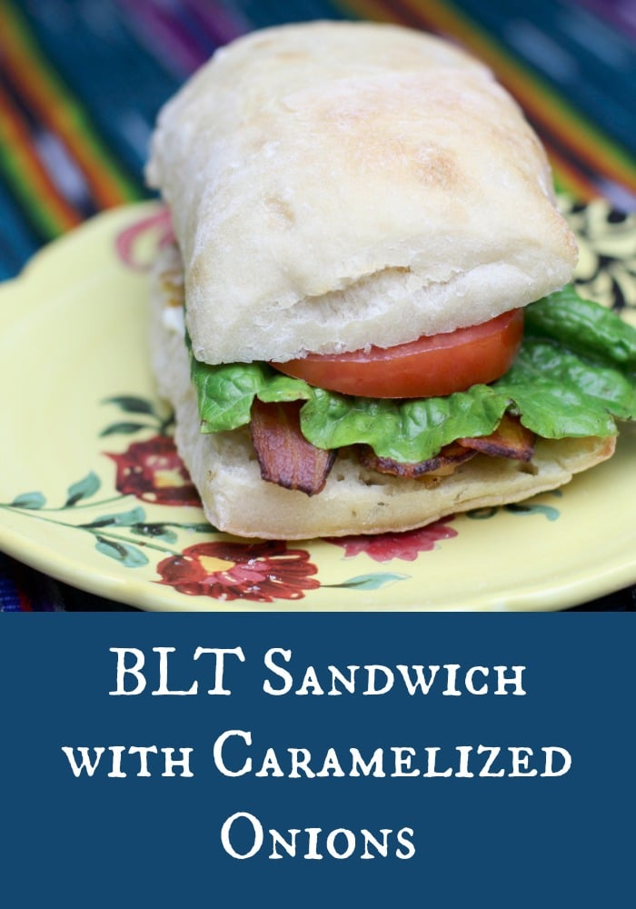 BLT with Caramelized Onions
