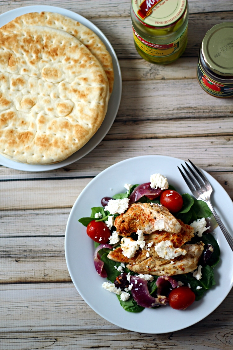 Baked greek chicken from the wanderlust kitchen