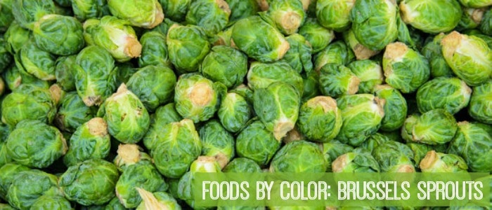Foods by Color Brussels Sprouts