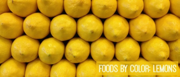 Foods by Color: Lemons