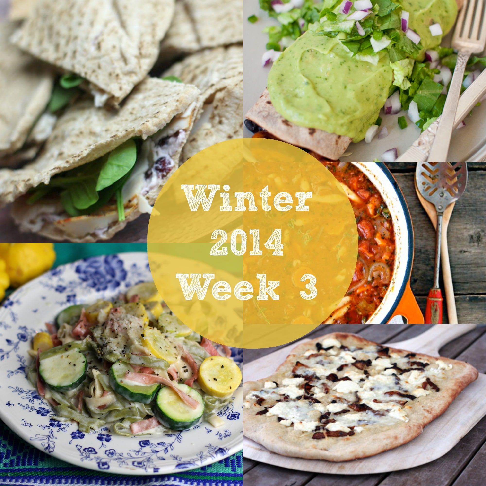 Winter Recipes Meal Plan