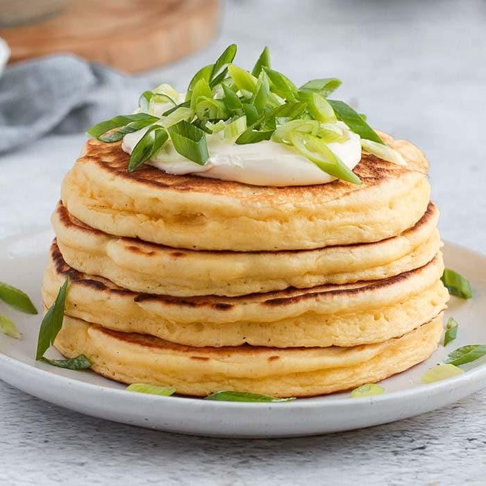 unique pancake recipe- cheese pancakes
