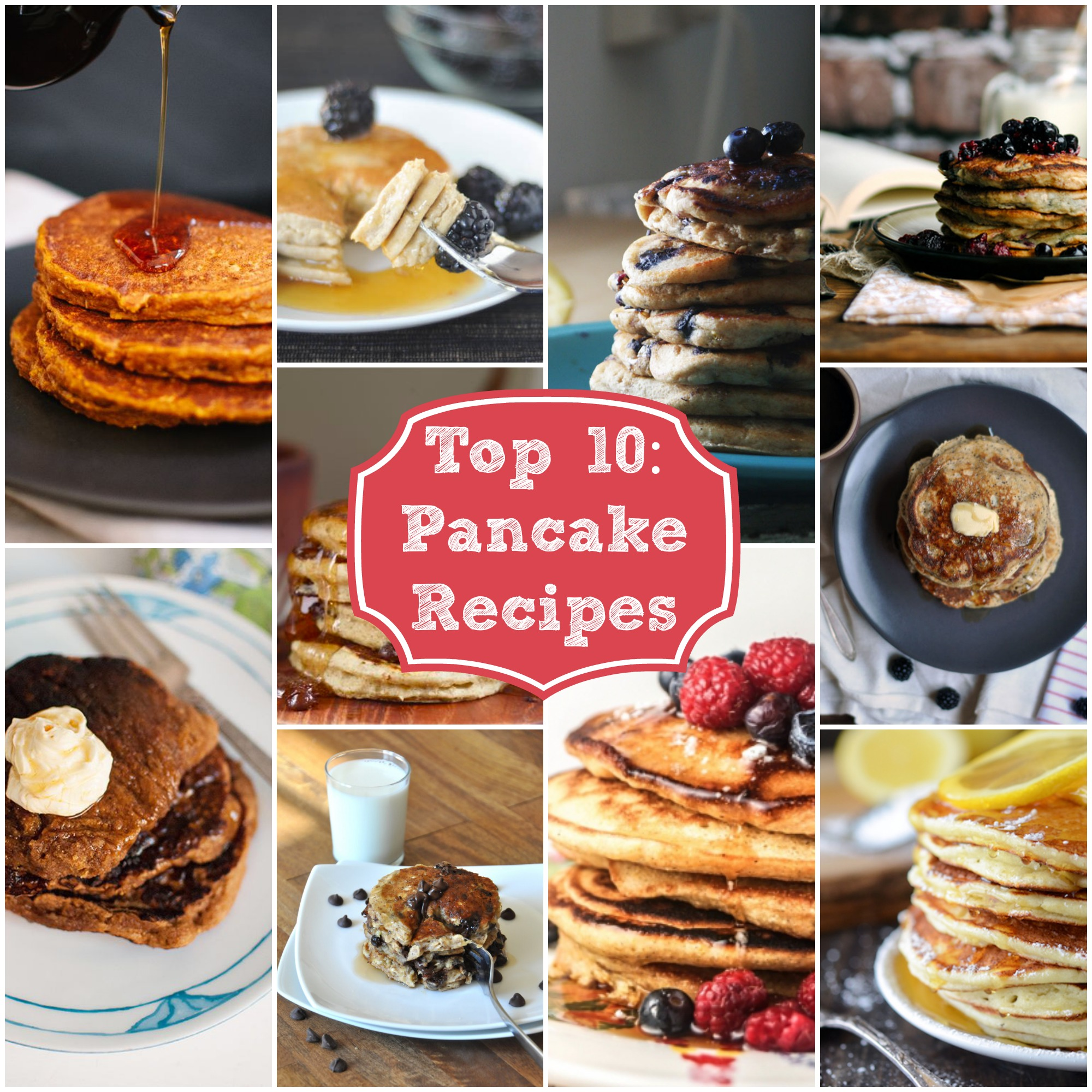 Top 10 Pancake Recipes