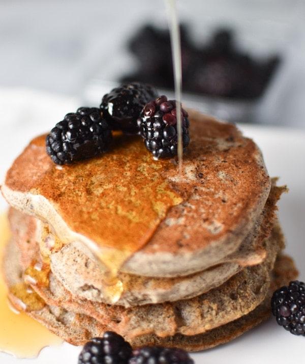 vegan buckwheat pancakes - creative pancake ideas