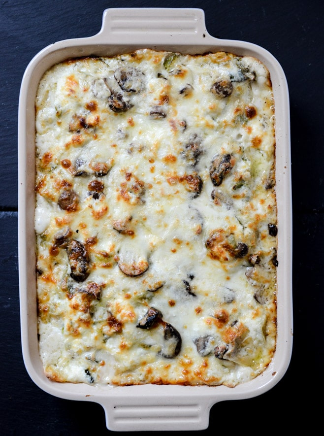 brussels sprouts lasagna