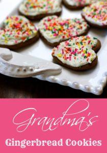 Grandma's Gingerbread Cookies