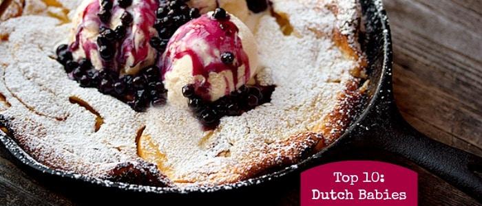 Top 10: Dutch Baby Pancakes