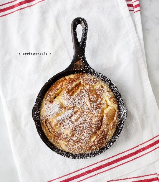 Dutch Baby Pancake Recipes : apple pancake