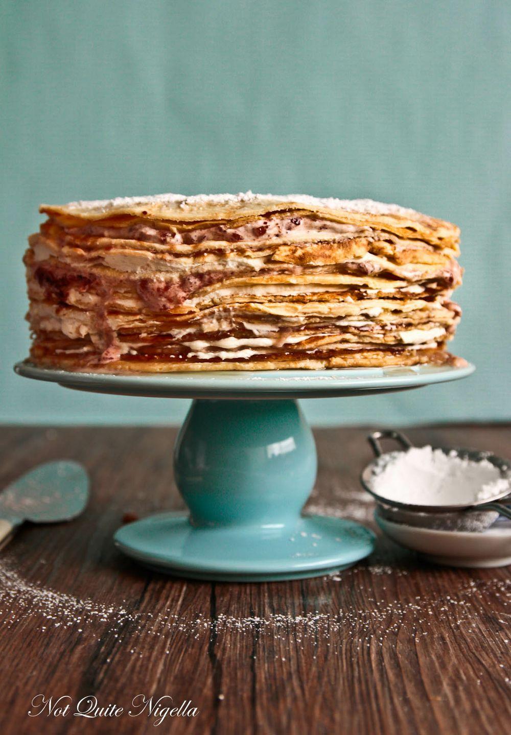 chesnut crepe cake