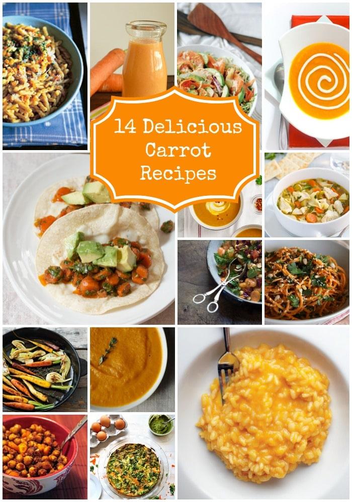 14 Delicious Carrot Recipes