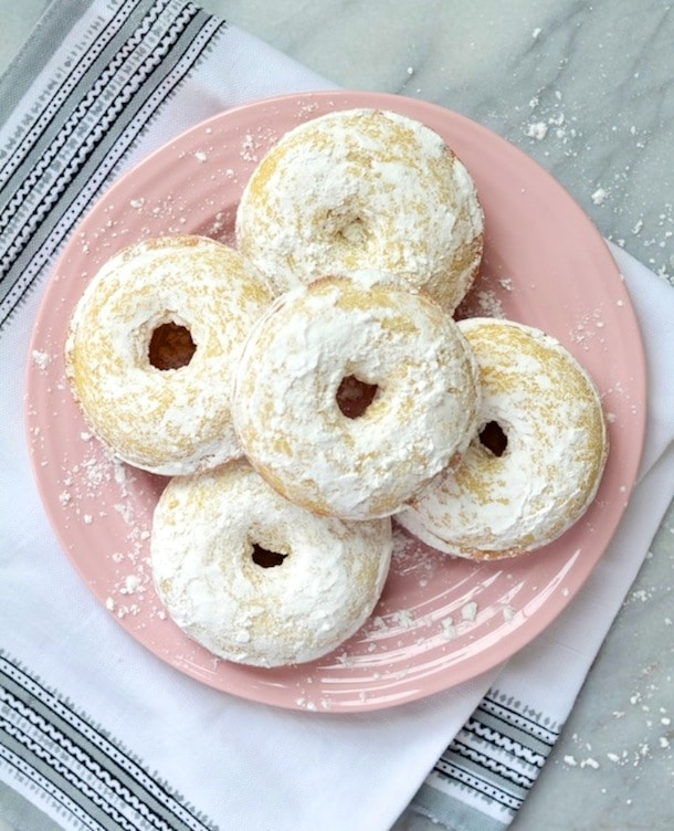 Baked Buttermilk Donuts