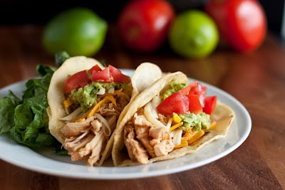 top 10 taco recipes: chicken tacos inspired by cafe rio