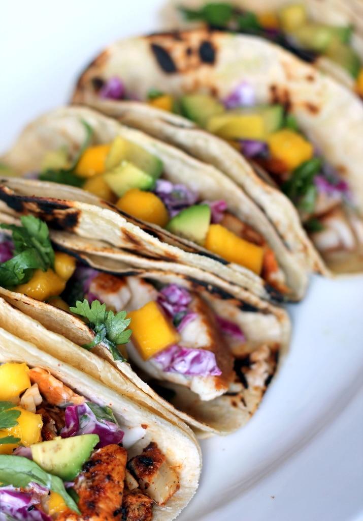 Top 10: Fish Tacos - Rainbow Delicious