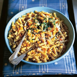 pasta with carrots risotto style
