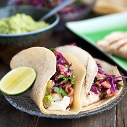 tequila lime halibut tacos