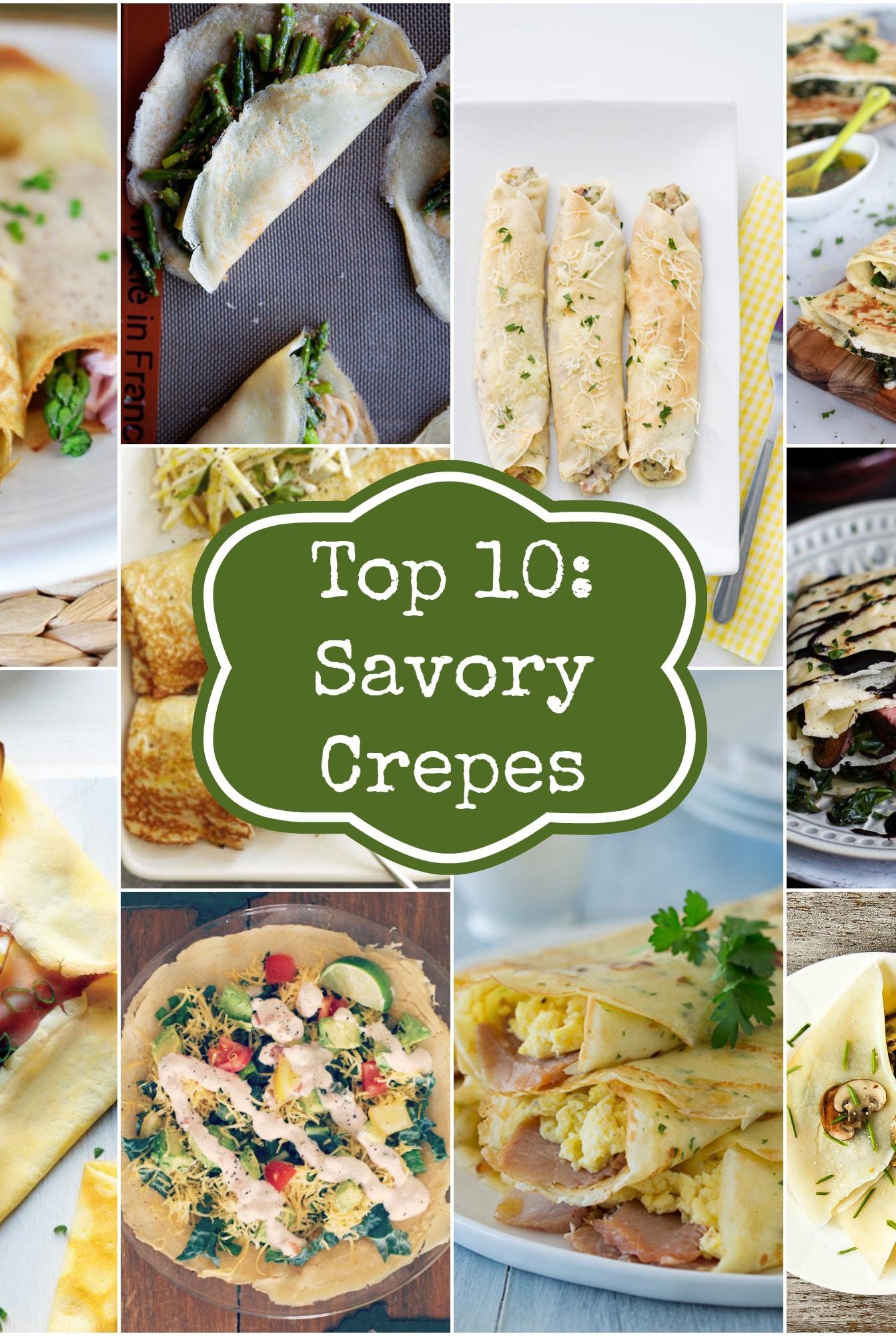 Top 10: Savory Crepes