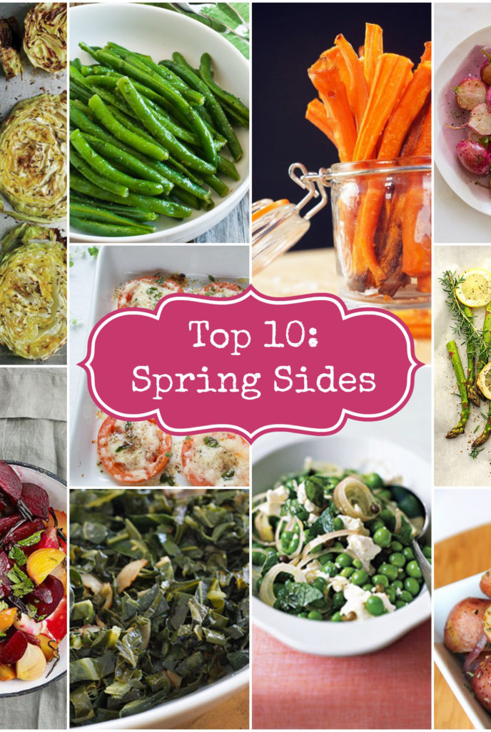 Top 10 Spring SIdes Rainbow Delicious