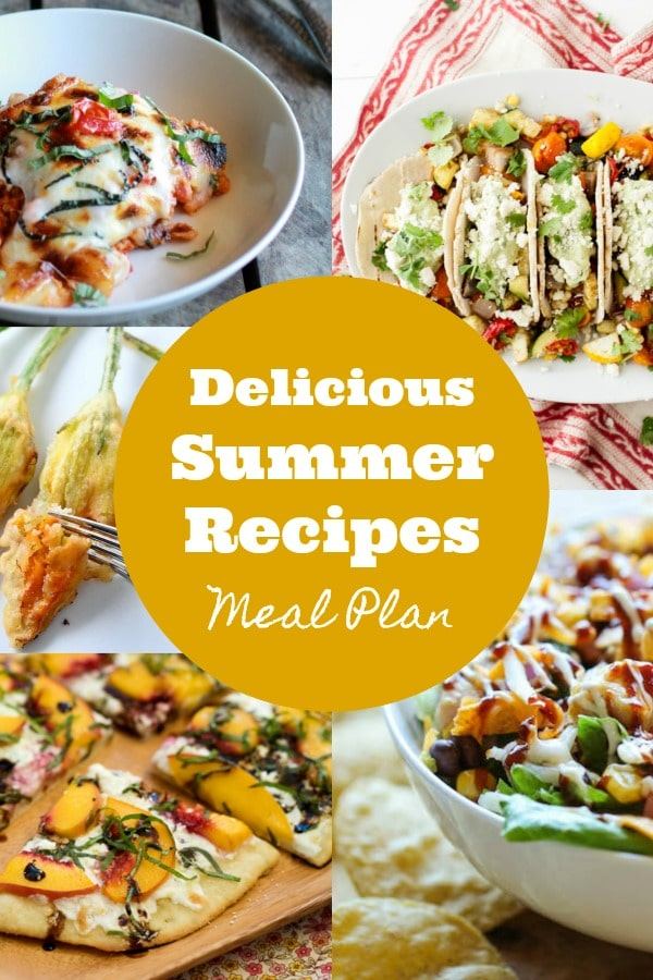 Delicious Summer Recipes on Rainbow Delicious