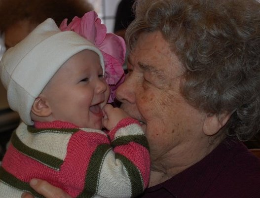 Grandma and Adelaide
