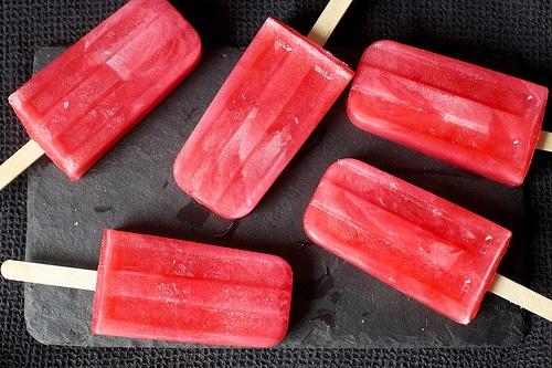 pink lemonade popsicles