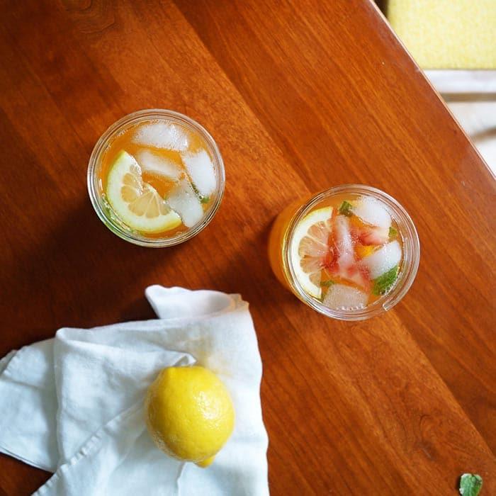 boozy arnold palmer unique lemonade drinks