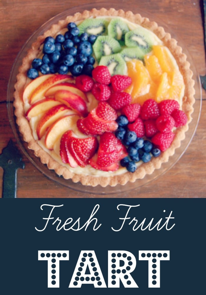 Ina Garten's Fresh Fruit Tart | Rainbow Delicious