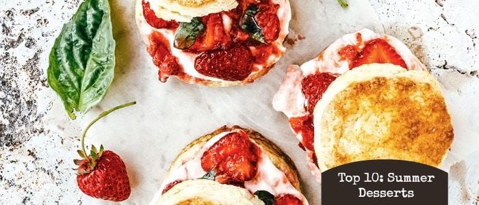 Top 10 Summer Desserts