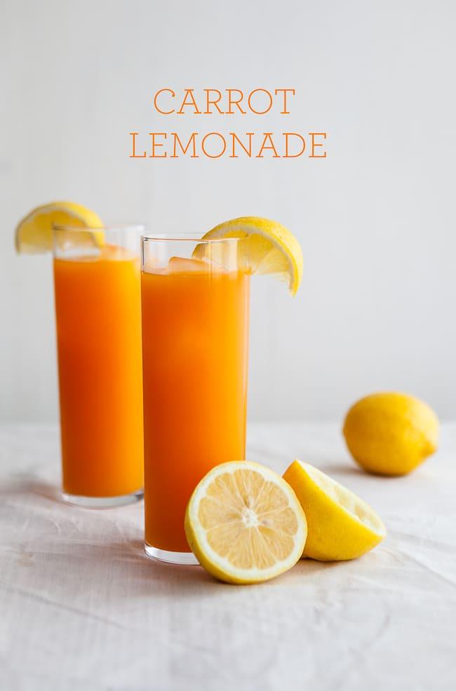 carrot lemonade | unique lemonade recipe