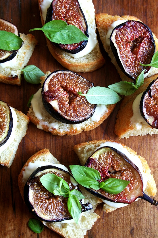 roasted fig appetizer