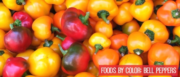 Foods by Color: Bell Peppers