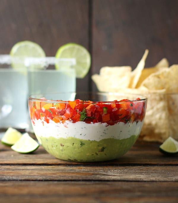 guacamole creamy cojita confetti salsa party dip