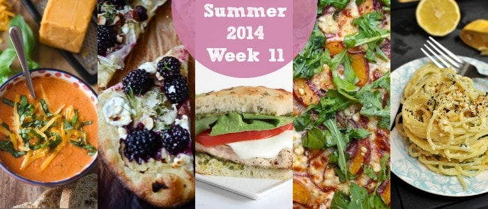 Meal Plan: Summer 2014 Week 11