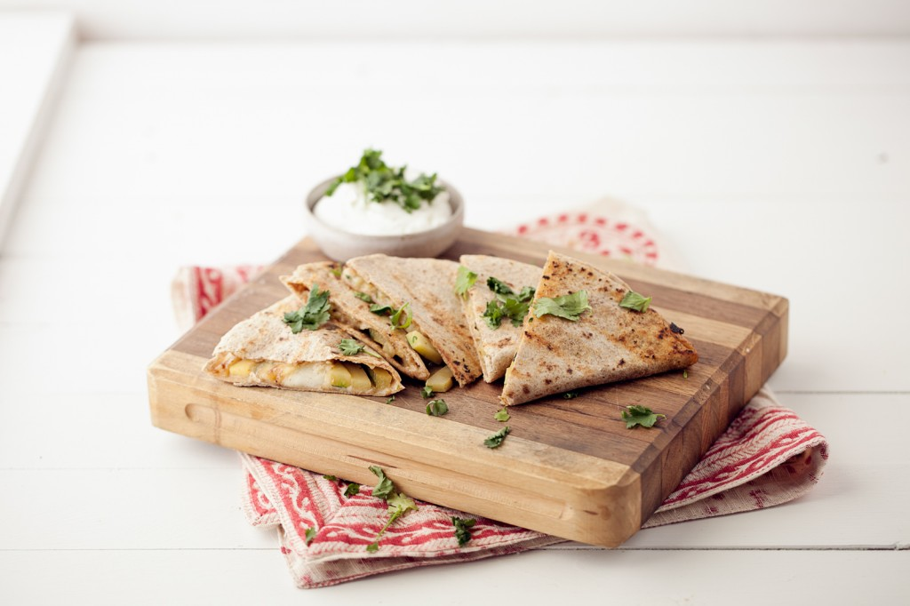 Easy Vegetarian Quesadilla Ideas | grilled cumin lime zucchini quesadillas