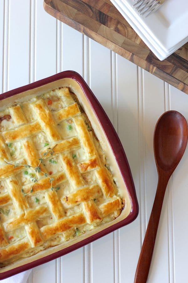 Fall Dinner Recipes : Chicken Pot Pie + 4 other delicious recipes in this week's Fall meal plan | Rainbow Delicious