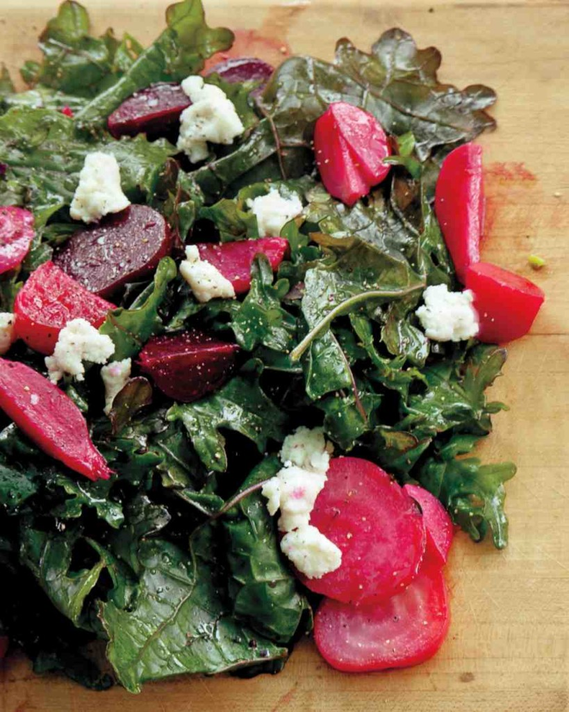 Fall Dinner Recipes : Kale Beet and Goat Cheese Salad + 4 other delicious recipes in this week's Fall meal plan | Rainbow Delicious