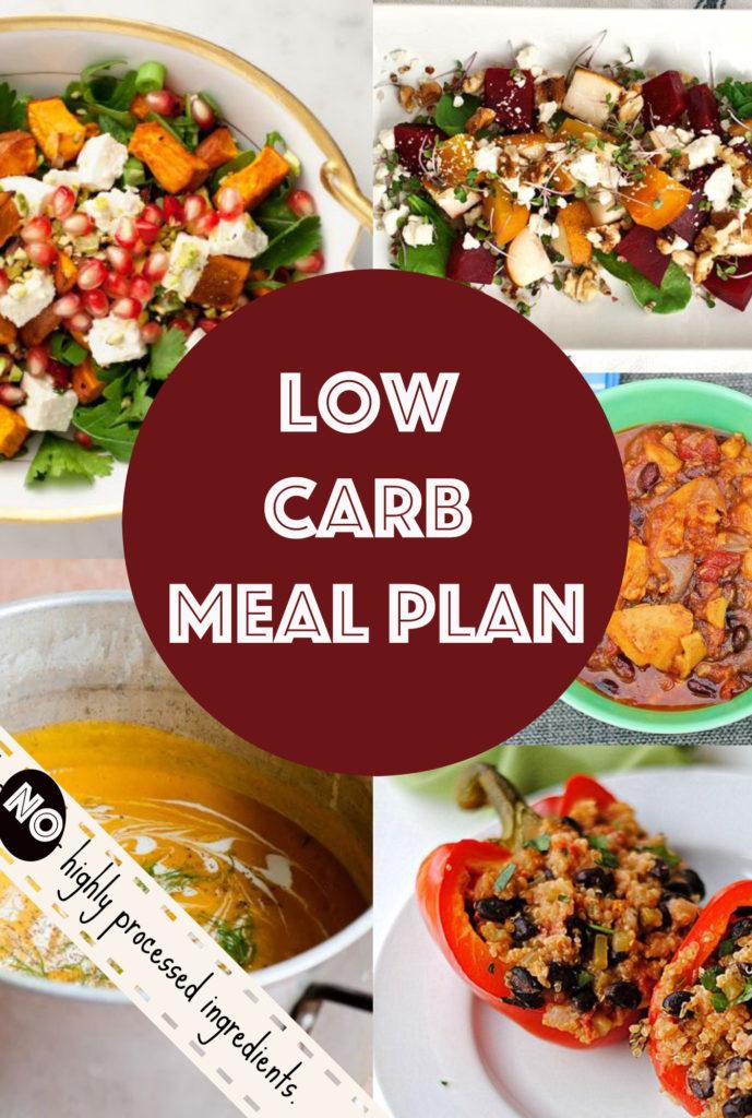 Low Carb Meal Plan