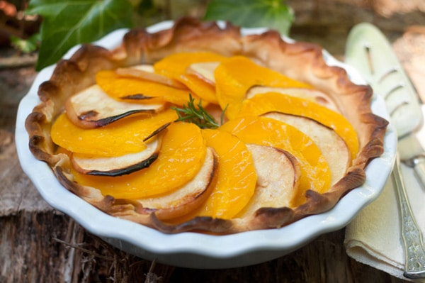 Fall Dinner Recipes : butternut apple tart + 4 other delicious recipes in this week's Fall meal plan | Rainbow Delicious